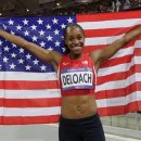 Janay DeLoach Earns Olympic Long Jump Bronze