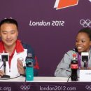 Chow and Gabby Douglas Press Conference after AA
