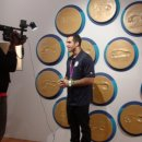 Danell Leyva does an interview