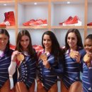 Fierce Five with Their Gold Medals