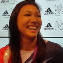 Kyla Ross during an interview