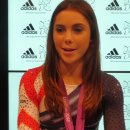 McKayla Maroney during an interview