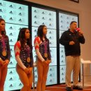 USA Gymnasts at the Adidas House