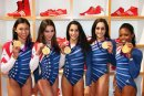 USA's  Fierce Five Around London