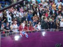 Princess Kate in the Stands with the Team GB gymnasts