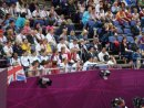 Team USA and Team GB in the Stands