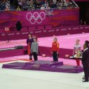 Women s Vault Medal Ceremony