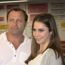 McKayla Maroney with coach Artur Akopyan