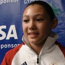 Kyla Ross in a 2009 interview