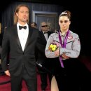 Not impressed to be Brad Pitt's date