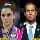 Prince William tries to steal McKayla Maroney's not impressed thunder