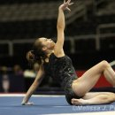 "McKayla Maroney on her leg injury:  ""the mat was more squishy than I've been used to"""
