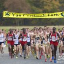 2012 Big East Cross-Country Championships: Edwin Kibichiy Leads the Pack in Mid-Race