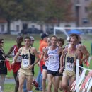 2012 Big East Cross-Country Championships: Leaders Martin Grady, Alex Wallace, and Jeremy Rae