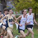 2012 Big East Cross-Country Championships: Shane Quinn, Alex Wallace, and Jeremy Rae