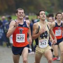 2012 Big East Cross-Country Championships: Griff Graves (13th) and J.P. Malette (14th)