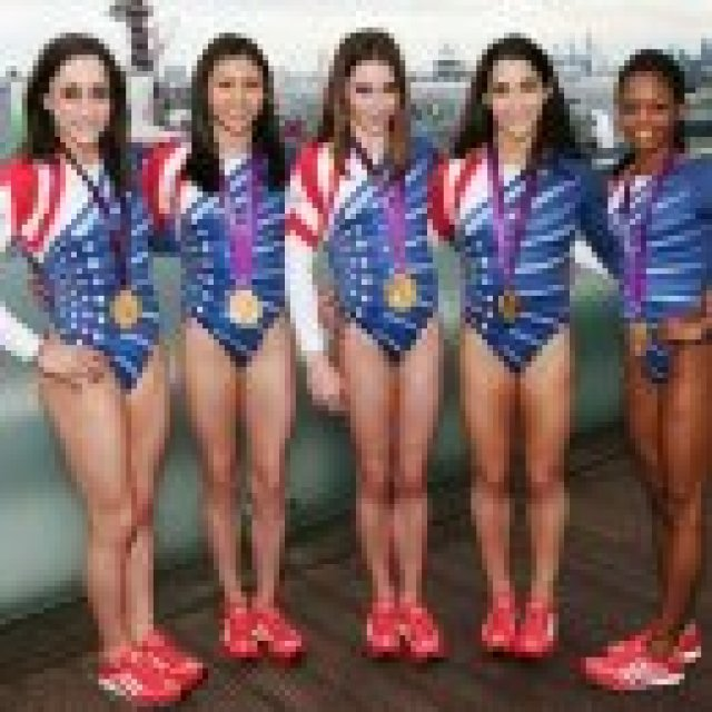 The Fierce Five Impress on the Today Show