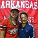 Amanda Wellick with Legacy Elite Coach Jeuju Li