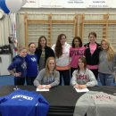 Cincinnati Gymnastics Signing Party   Marissa Beucler and Amanda Jetter