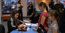 McKayla Maroney impresses young fans at an autograph signing in Washington DC