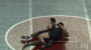 Spencer Young of Jackson Memorial pins Myles Anthony of Germantown, Beast of the East opening round 145lbs