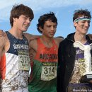 Estevan De La Rosa (Junior) (middle) - Arcadia High School, 2nd place at 2012 NXN