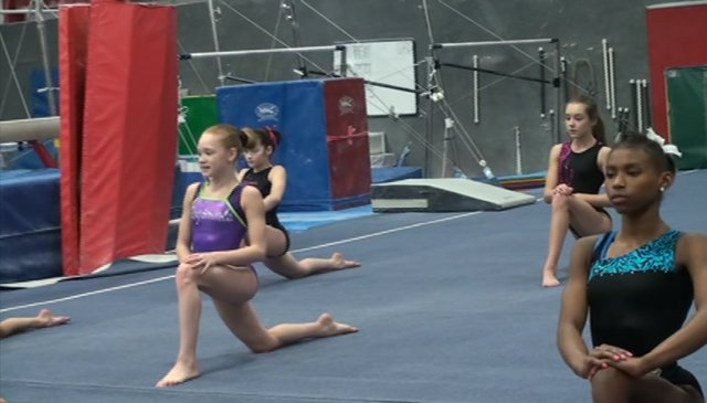 Workout Wednesday: Morning Elite Training at Buckeye Gymnastics