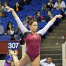 Oklahoma gymnast Taylor Spears at the Metroplex Challenge