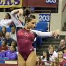 OU gymnast Taylor Spears at the 2013 Metroplex Challenge