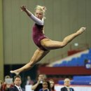 OU gymnast Brie Olson 2013 Metroplex Challenge