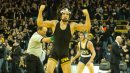 Tony Ramos with the pin, Carver Hawkeye erupts