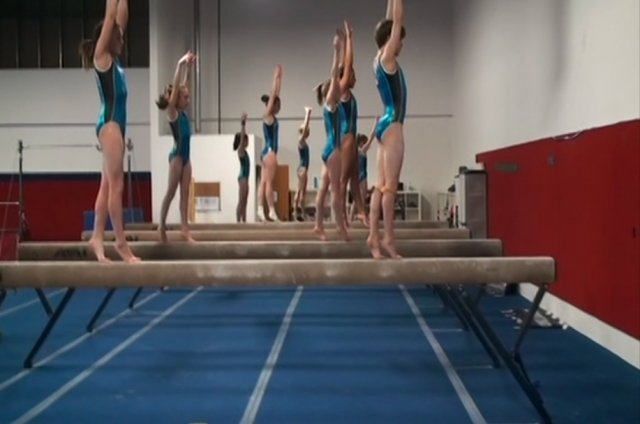 Workout Wednesday: Morning Training with Perfection Gymnastics