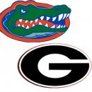 No. 1 Florida at No. 9 Georgia