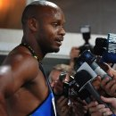 Asafa Arrives in Australia