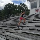 Running bleachers