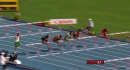 M110m Hurdles Heat 3 - Merritt makes it through