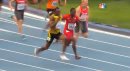 Jamaican men win 2013 4x100m Champs