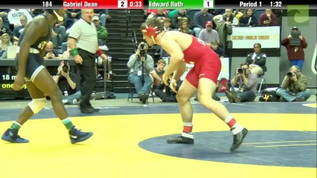 184 Final Ed Ruth Penn State vs Gabe Dean Cornell