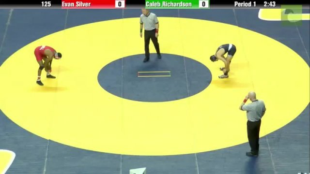 125 Final Nahshon Garrett Cornell vs Nico Megaludis