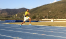 Yohan Blake Weights and Hills in Kingston