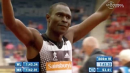 David Rudisha obliterates the Glasgow DL 800m