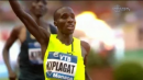Kiplagat wins the stacked 1500m