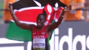 Alfred Kipketer wins 800m in 1:43!