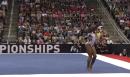 Simone Biles Floor 2014 P&G Championships Sr. Women Day 1