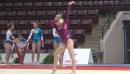 Mykayla Skinner Floor Routine, Sr Pan Ams Training Day 2
