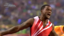 Gatlin Dominates 100 to win Diamond Title