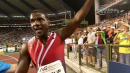 Gatlin Doubles Back in 200 at Brussels