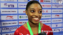 Simone Biles - Interview - 2014 World Championships - Team Final