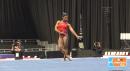 Simone Biles - FX, 2015 American Cup Podium Training