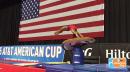 Simone Biles - Slow Mo Amanar, 2015 American Cup Podium Training